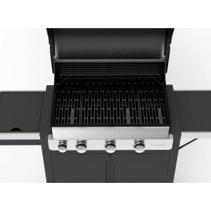 Barbecook - BARBECUE A GAS STELLA 3201- 3 FUOCHI CON CAPPA FORNO E FORNELLO LATERALE