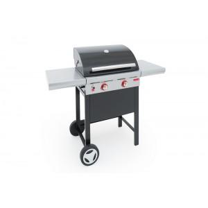 Barbecook - BARBECUE A GAS GAS SPRING 200 2 FUOCHI CON CAPPA FORNO