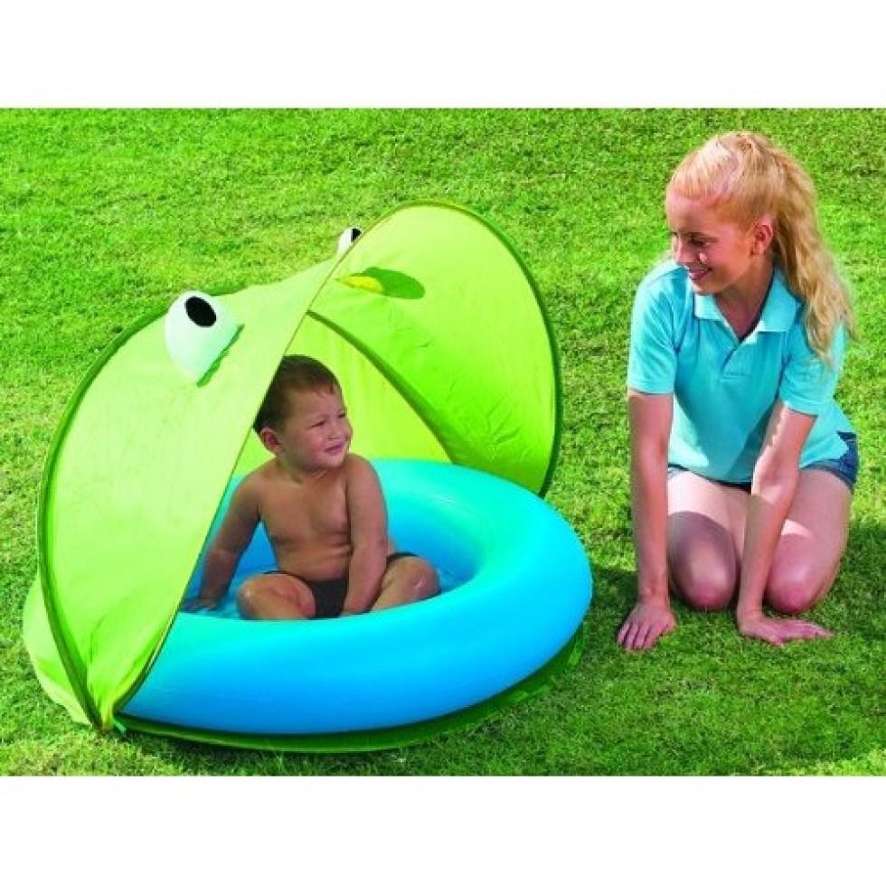 Bestway piscina baby con tenda richiudibile mod rana for Piscina best way