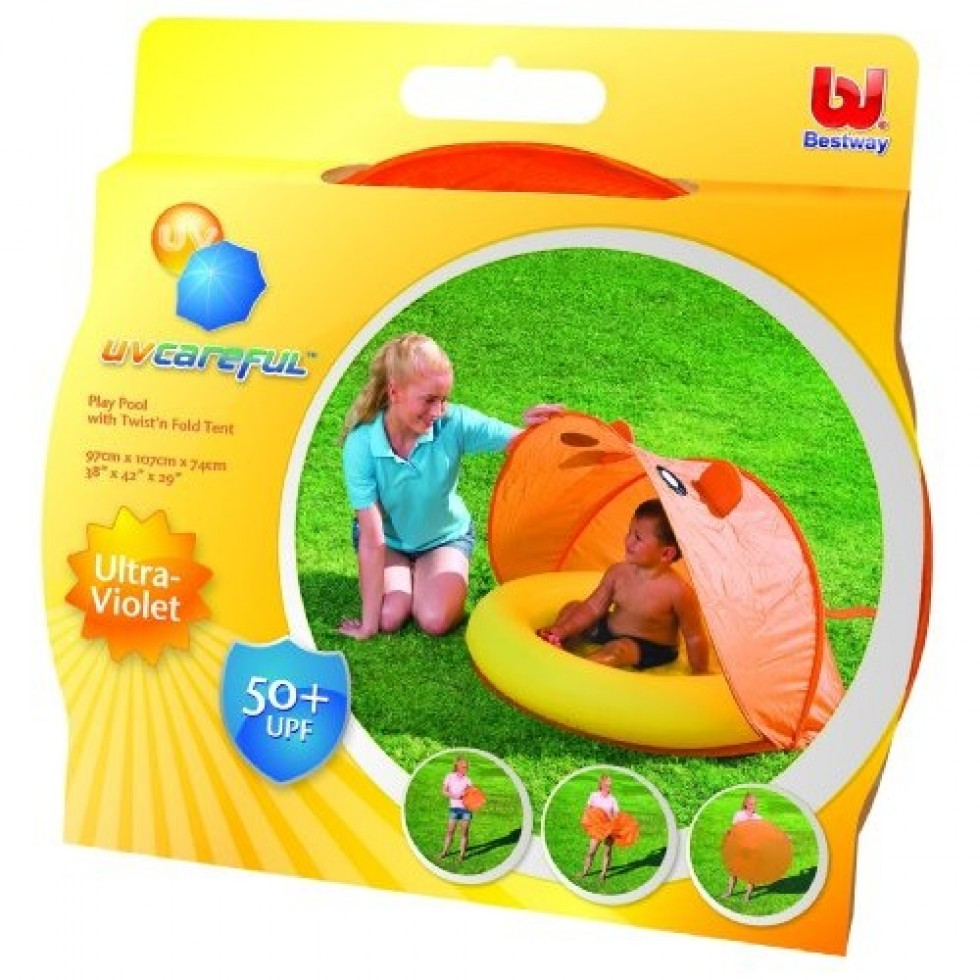 Bestway piscina baby con tenda richiudibile mod topolino for Piscina best way
