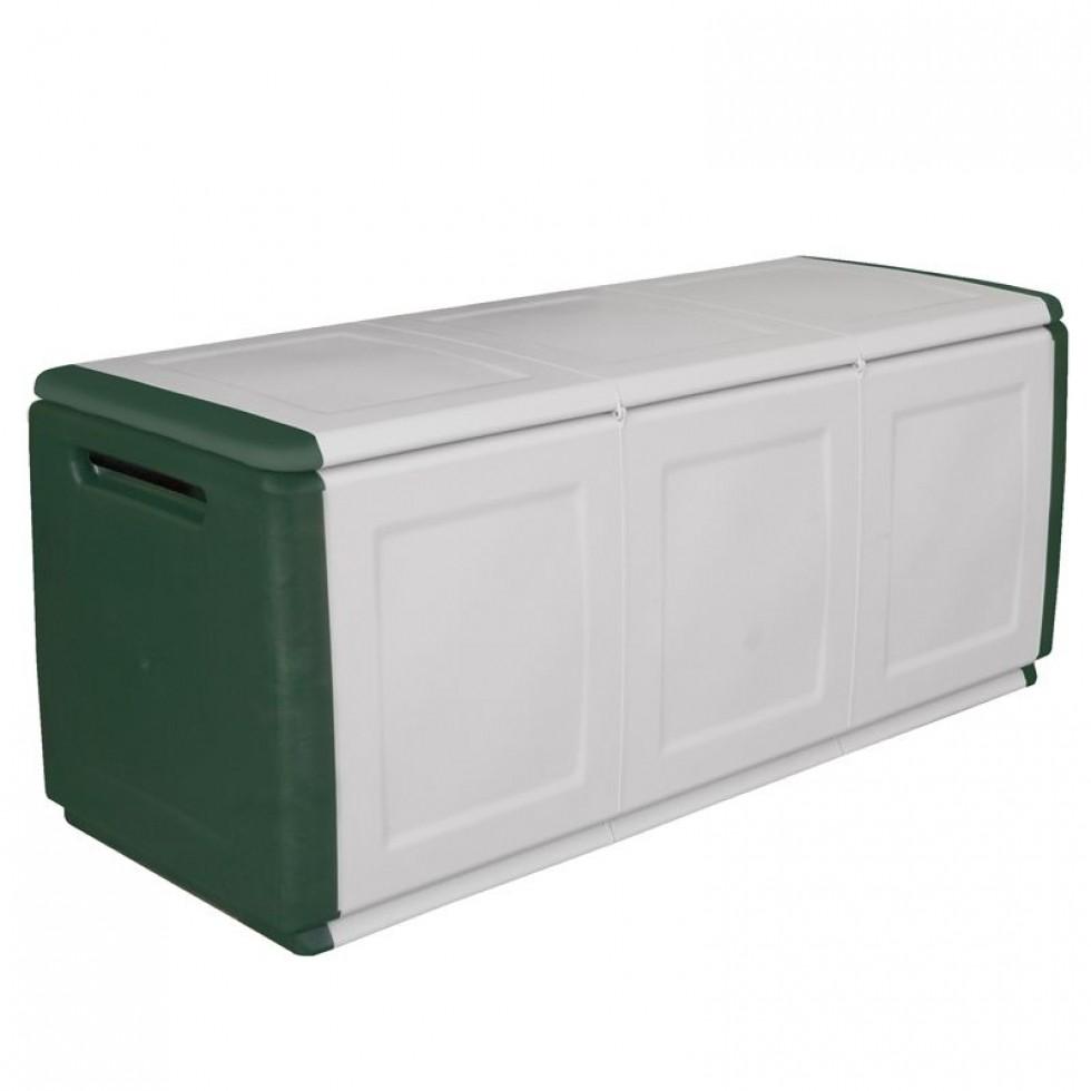 Contenitore baule per giardino cube 3 for Contenitori per esterni in plastica