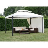 GAZEBO RETT. 3X4 CON TENDE LATERALI