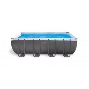 Novita 39 2017 intex piscina rettangolare ultra frame 549x274x132 h con struttura - Piscina intex 549x274x132 ...