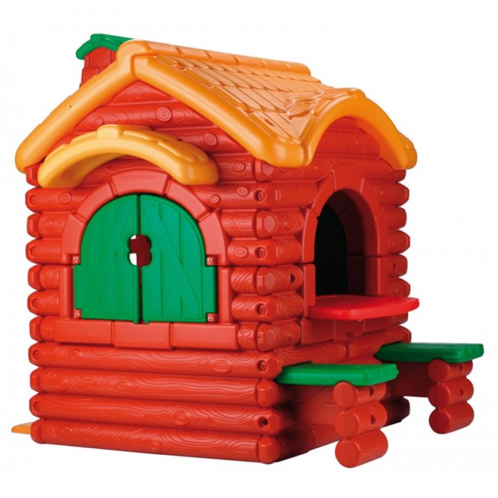 Famosa 800002884 woodland cottage feber casetta da gioco for Grande casetta per bambini