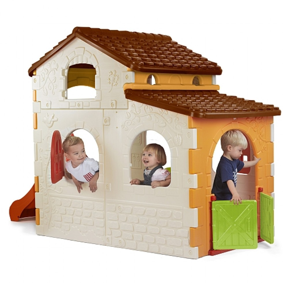 Casetta Giardino Feber : Famosa beauty house feber casetta per bambini