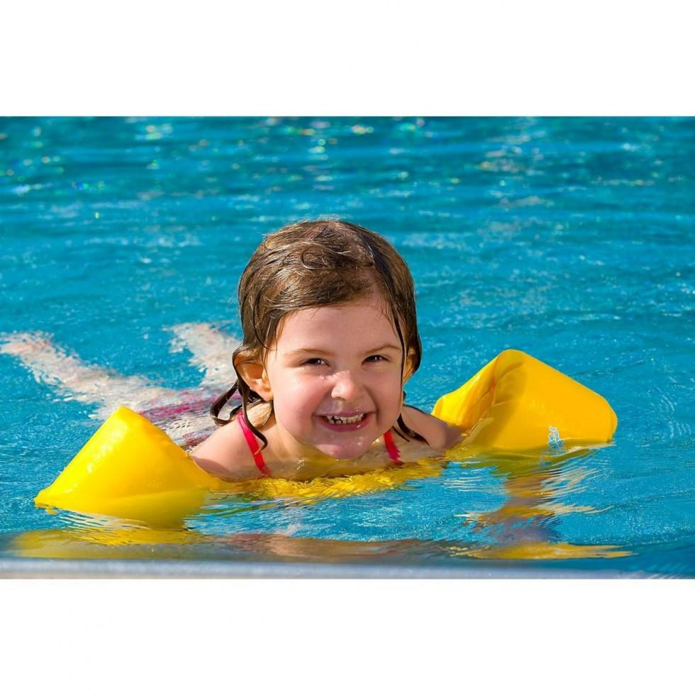 Sevylor salvagente imbottito con braccioli disegno squalo for Sevylor piscine