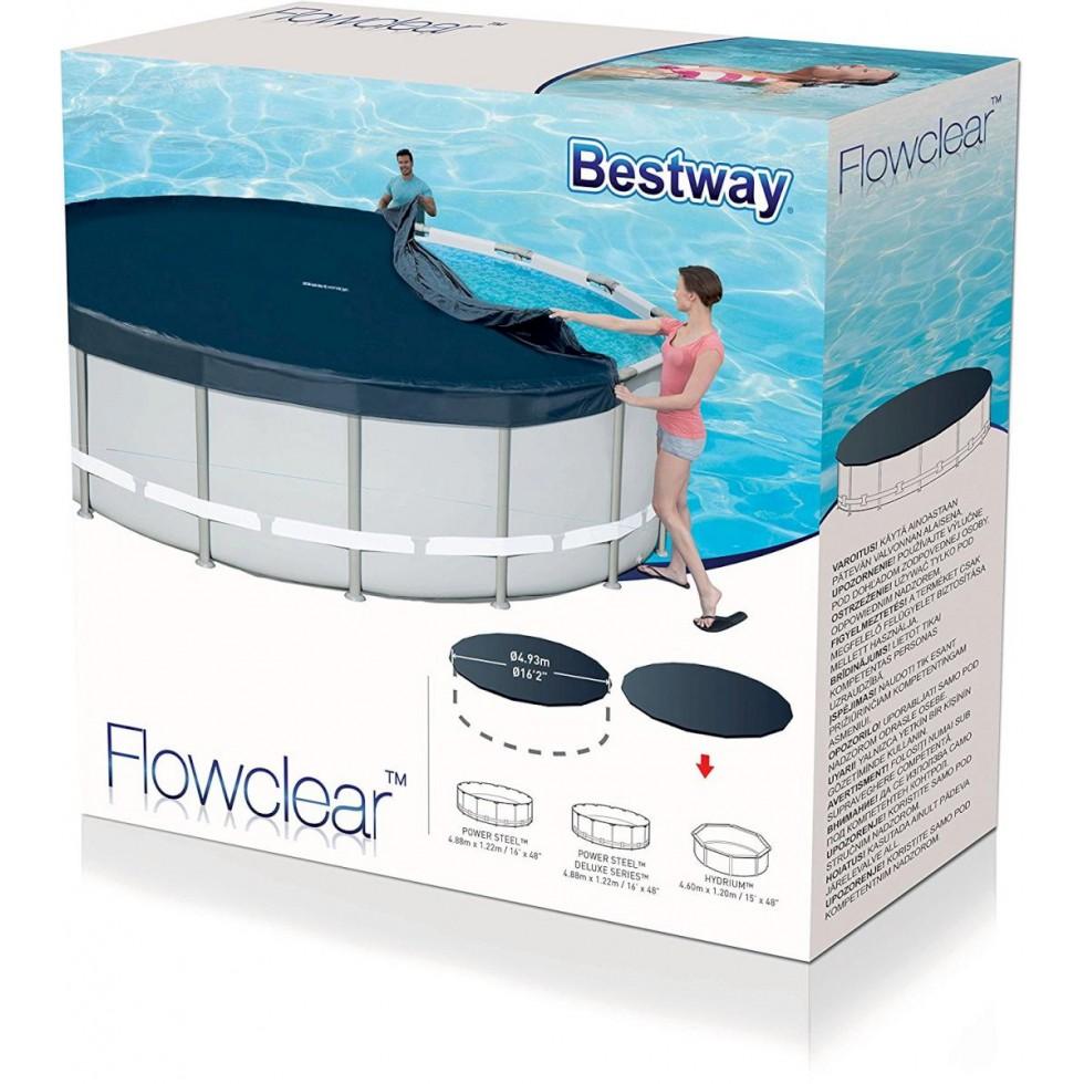 Bestway telo copripiscina frame for Bestway piscine e accessori