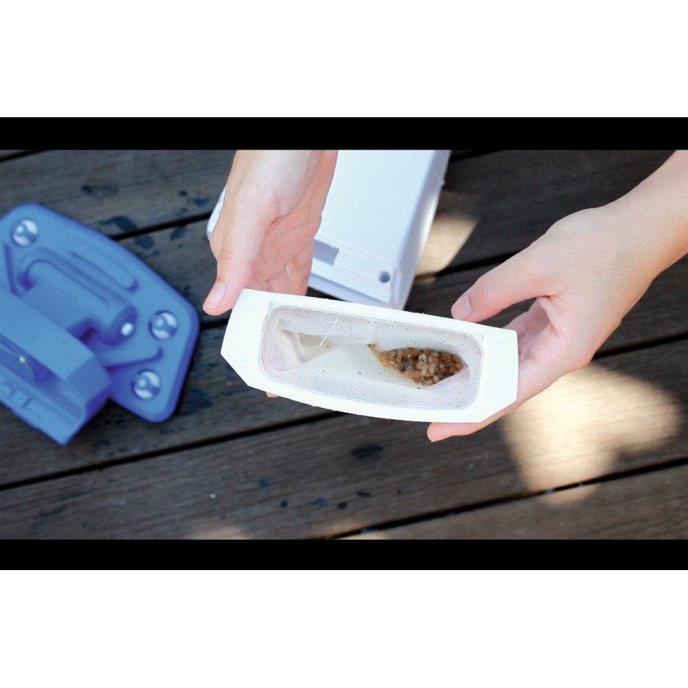 Bestway aspiratore ricaricabile a ioni di litio no effetto memoria per piscine fuoriterra - Aspirapolvere per piscina ...