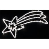 STELLA COMETA LED CM. 80X40 LUCE FREDDA CON FLASH
