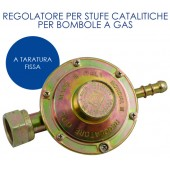 REGOLATORE PER GAS + KIT TUBO E FASCETTE PER BARBECUE