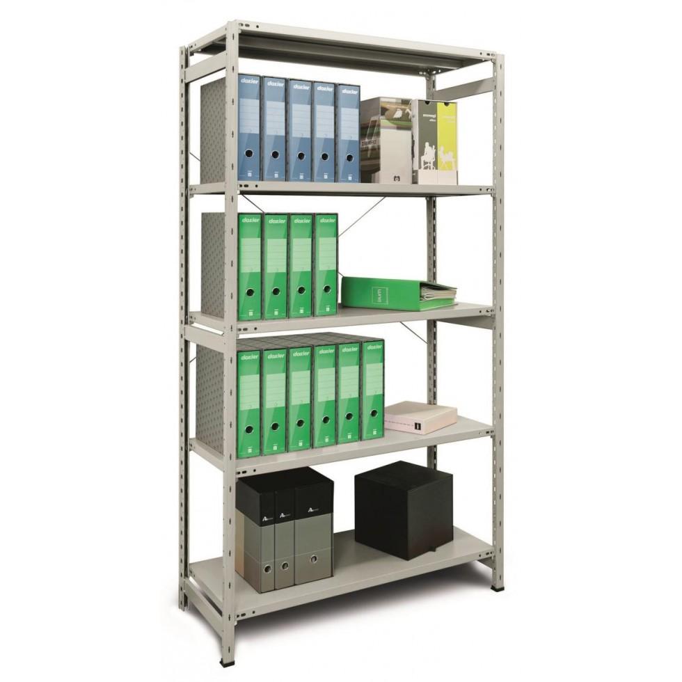 Scaffale metallo arredokit lb1 x 42 180 5 piani for Piani di casa in metallo