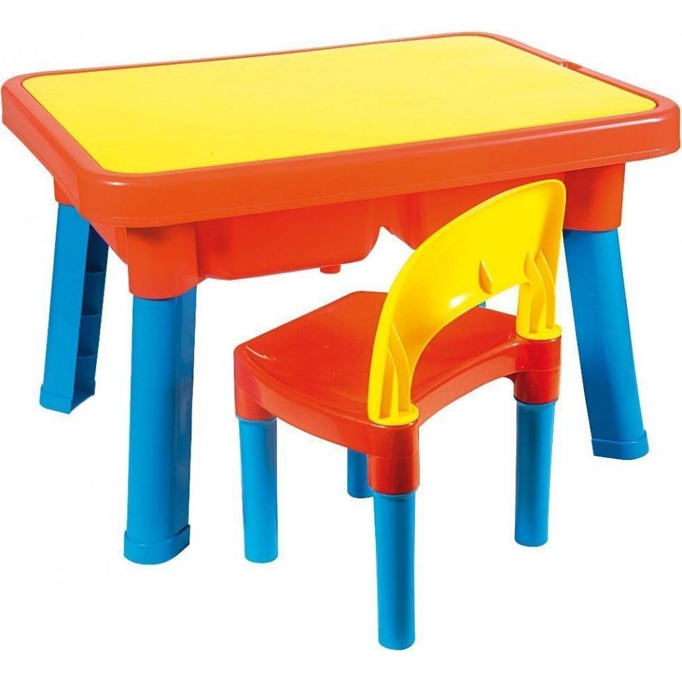 Androni tavolo gioco con sedia - Tavolo contenitore bambini ...