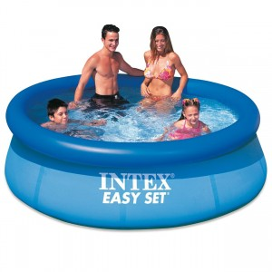 INTEX PISCINA EASY SET CM.244 X 76 ANELLO GONFIABILE