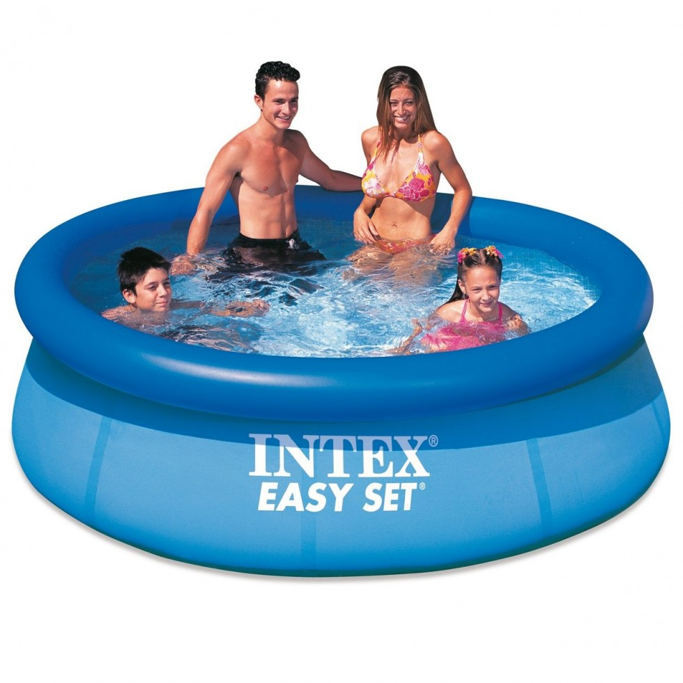 intex piscina easy set x 76 anello gonfiabile. Black Bedroom Furniture Sets. Home Design Ideas