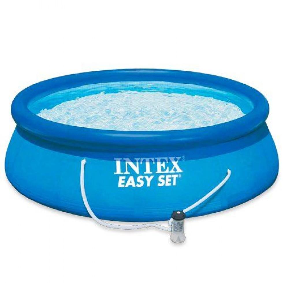 Intex piscina easy set x 76 anello gonfiabile con pompa filtro - Pompa piscina intex ...