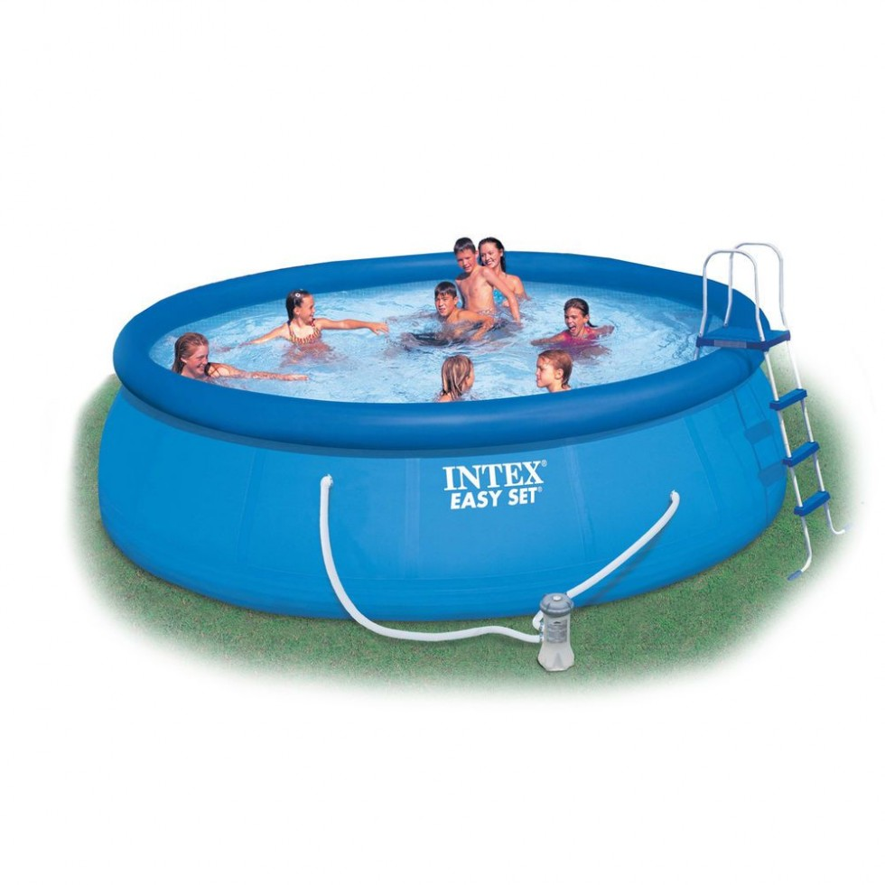 Intex piscina easy set x 84 anello gonfiabile con pompa filtro - Intex piscina gonfiabile ...