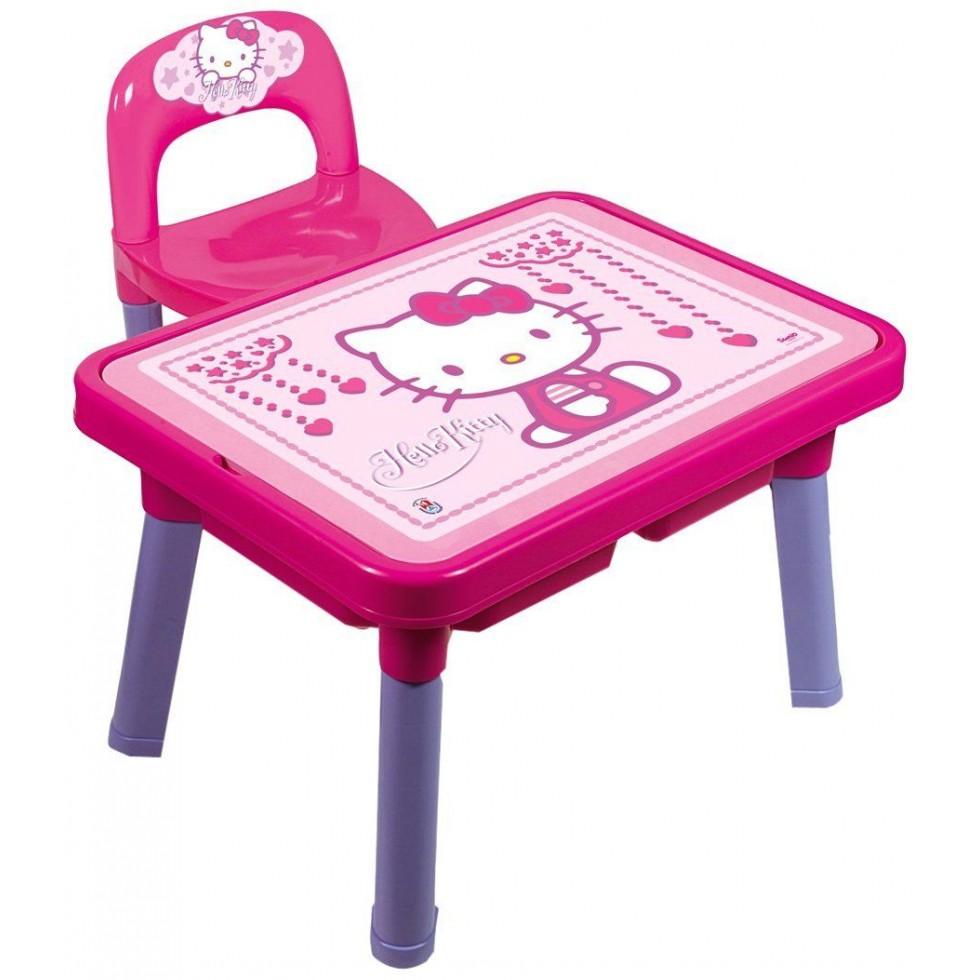 Androni tavolo gioco con sedia hallo kitty for Tavolo e sedia bambini