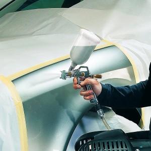 Einhell - Aerografo per vernici con serbatoio superiore - accessorio per compressori