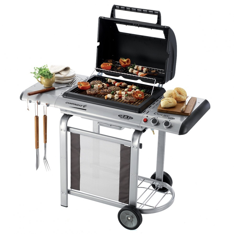 outlet campingaz barbecue a gas rbs c line 1900 outlet