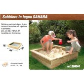 NEW PLAST SABBIERA LEGNO SAHARA
