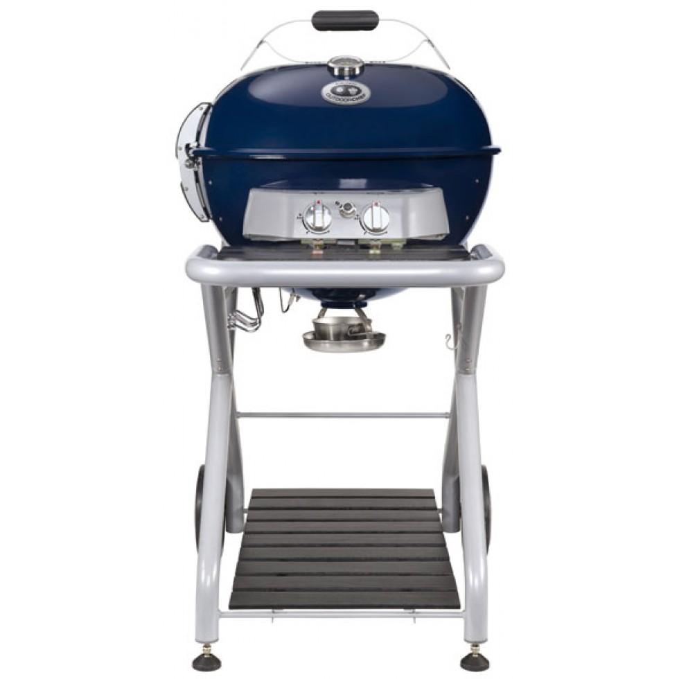 Outdoorchef barbecue a gas sferico ascona 570 g blu - Barbecue outdoorchef ...